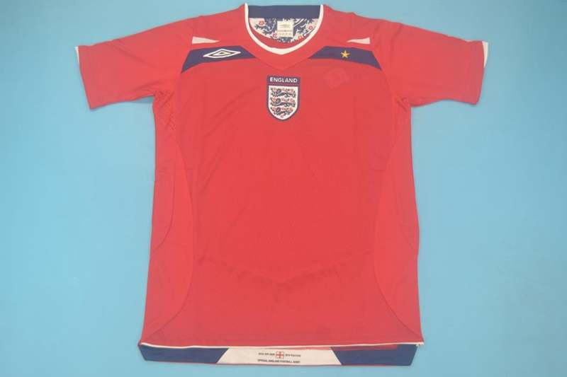 AAA Quality England 2008/10 Away Retro Soccer Jersey