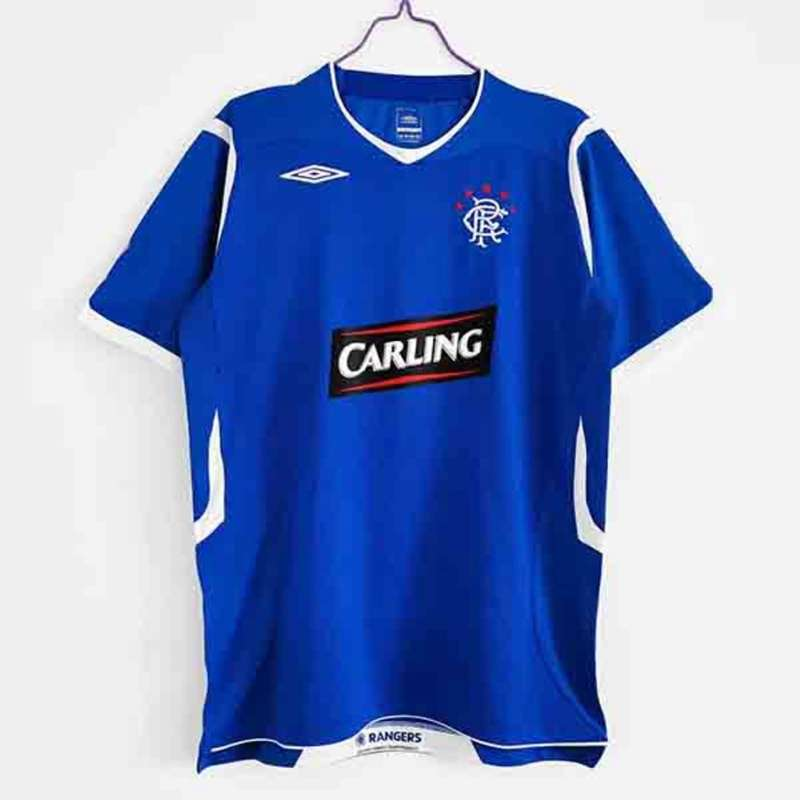 AAA Quality Rangers 2008/09 Retro Home Soccer Jersey