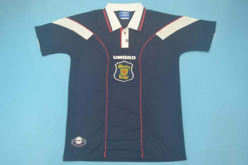 AAA Quality 1996/98 Scotland Retro Home Soccer Jersey